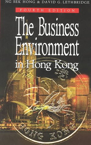 9780195905663: The Business Environment in Hong Kong