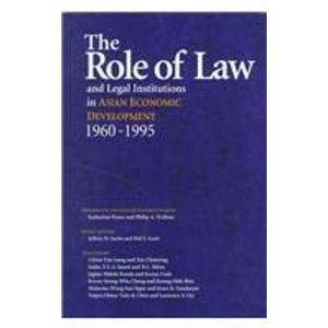 9780195909838: The Role of Law and Legal Institutions in Asian Economic Development, 1960-1995