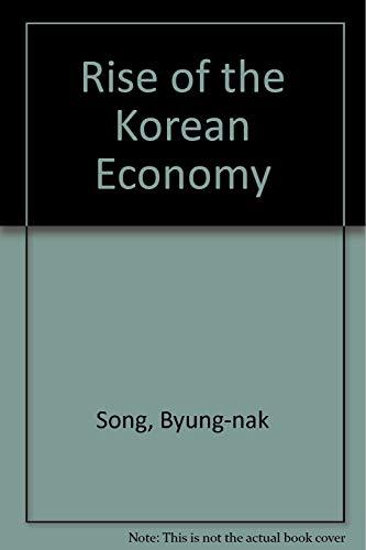 9780195928273: The Rise of the Korean Economy