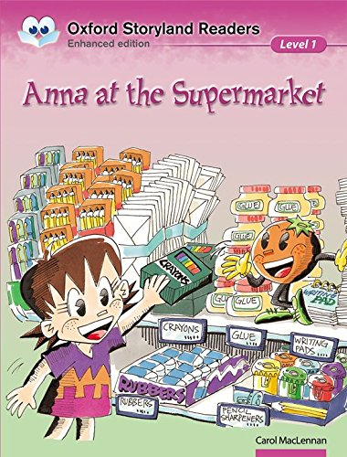 9780195969467: Oxford Storyland Readers level 1: Anna at the Supermarket