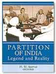 9780195977196: Partition of India: Legend and Reality
