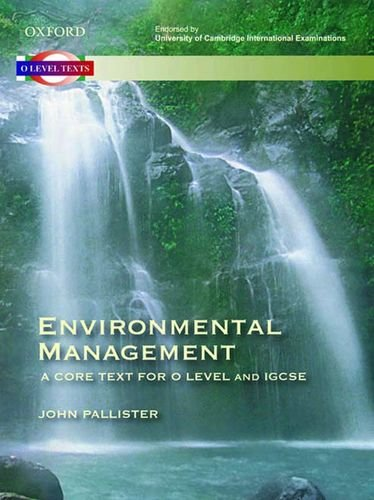 9780195977851: ENVIRONMENTAL MANAGEMENT (A CORE TEXT FOR O LEVEL AND IGCSE)