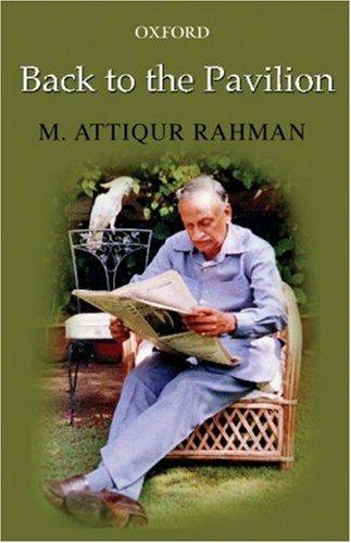 Back to the Pavilion: Rahman, M. Attiqur