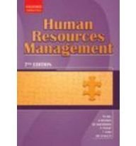 9780195981216: HUMAN RESOURCES MANAGEMENT.