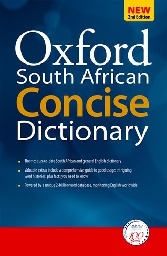 9780195982183: Oxford South African Concise Dictionary