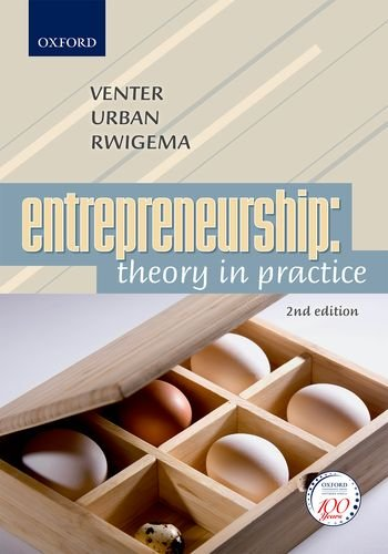 9780195983548: Entrepreneurship: Theory in Practice