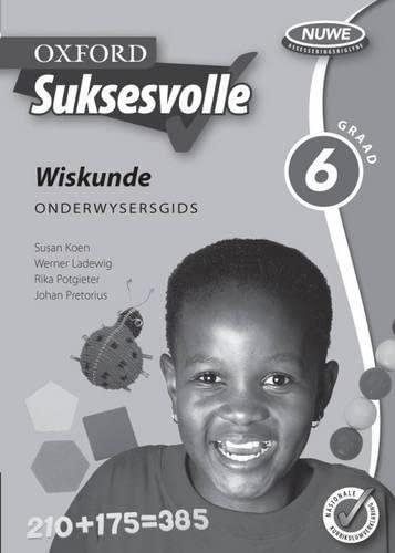 9780195983722: Oxford Suksesvolle Wiskunde: Gr 6: Onderwysersgids (Afrikaans Edition)