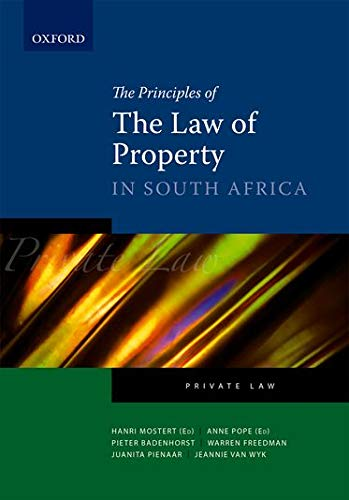 9780195984040: Property Law in South Africa