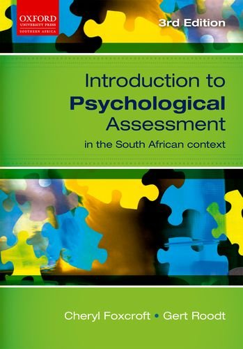 9780195988369: Introduction to Psychological Assessment