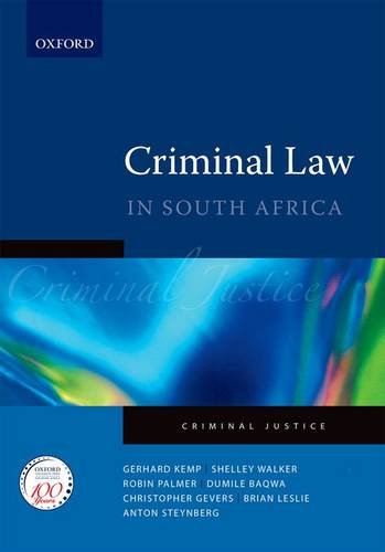 9780195989144: Criminal Law: A practical guide