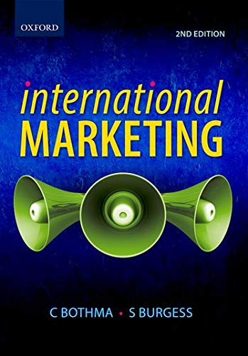 9780195991185: International Marketing (Oxford Southern Africa)