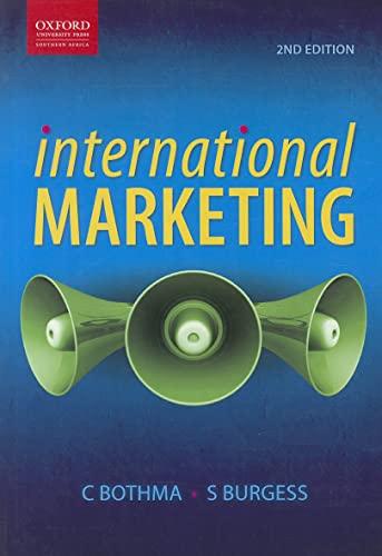 9780195991185: International Marketing (Oxford Southern Africa)