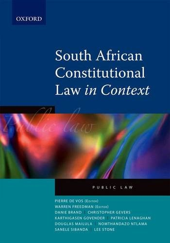 9780195991376: South African Constitutional Law in Context: Public Law