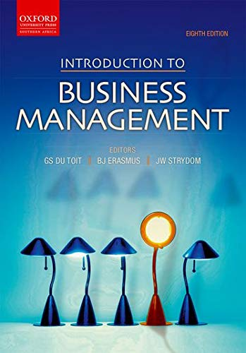 Introduction to Business Management (Oxford Southern Africa): du Toit, Gawie;