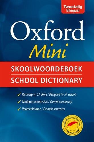 Oxford mini skoolwoordeboek/school dictionary (Paperback): OUP Southern Africa