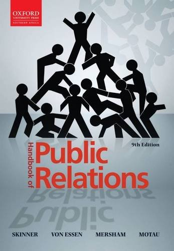 9780195992908: Handbook of Public Relations