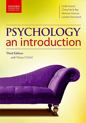 9780195995114: Psychology: an introduction (Oxford Southern Africa)