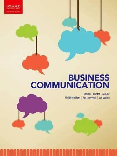 9780195995268: Business Communication
