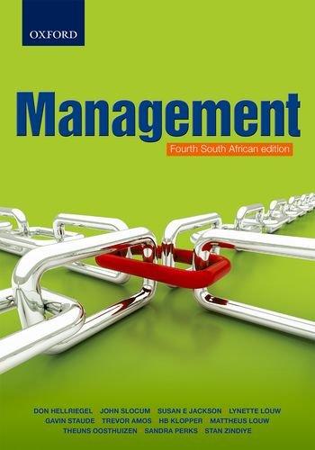 Management 4th South African edition: Hellriegel, Don; Slocum,