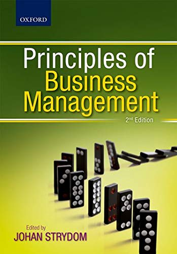 9780195995992: Principles of Business Management