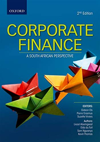 9780195996012: Corporate Finance: A South African Perspective