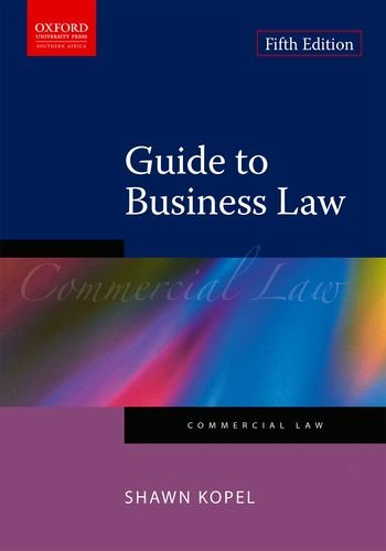 9780195996784: Guide to Business Law (Commercial Law)