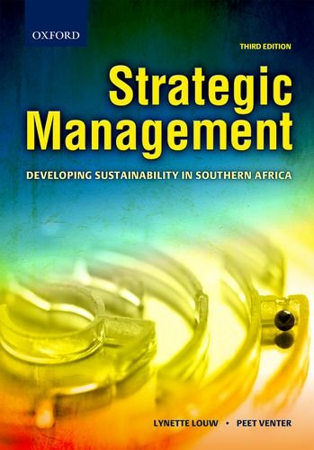 9780195997040: STRATEGIC MANAGEMENT: DEVELOPING SUSTAINABILITY IN SOUTHERN AFRICA.