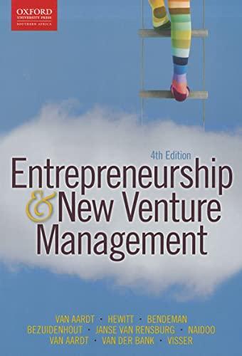 Entrepreneurship and New Venture Management: van Aardt, Isa;