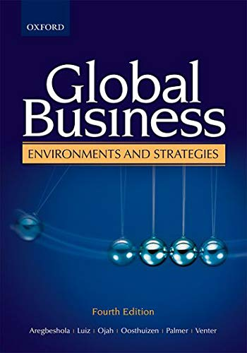 9780195997705: Global Business Environments and Strategies