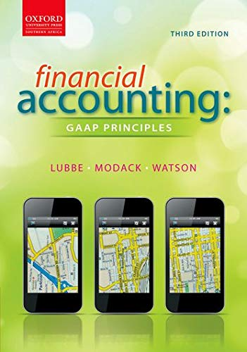 Accounting GAAP: Lubbe, Ilse; Modack,