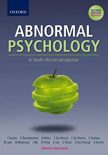 9780195998375: Abnormal Psychology: A South African perspective