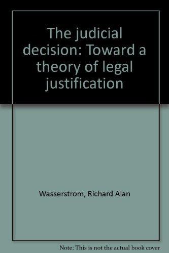 9780196186160: The Judicial Decision