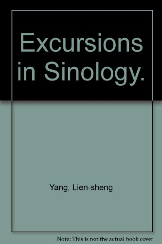 9780196265698: Excursions in Sinology.