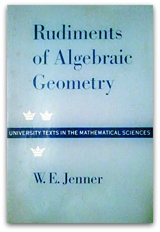 9780196314358: Rudiments of Algebraic Geometry