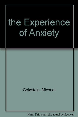 9780196314525: the Experience of Anxiety