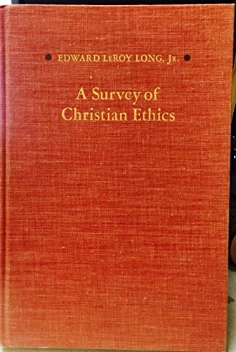 9780196316130: Survey of Christian Ethics