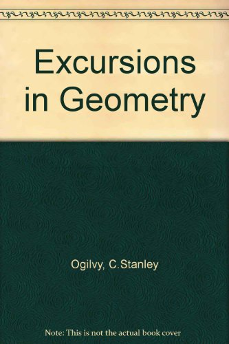 9780196317748: Excursions in Geometry