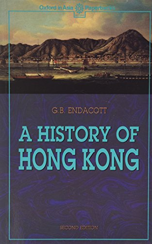 9780196382647: A History of Hong Kong (Oxford in Asia Paperbacks)