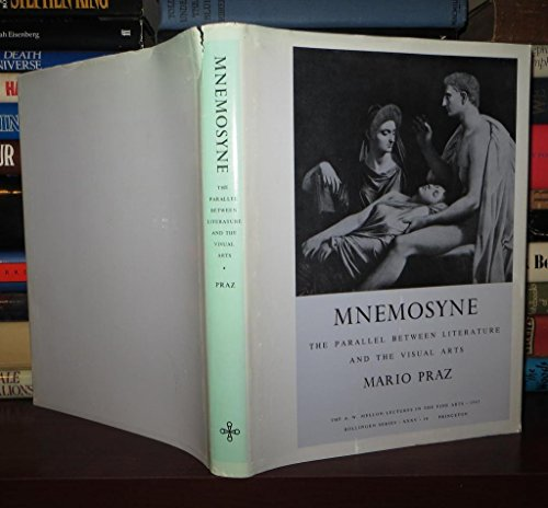 9780196903828: Mnemosyne: The Parallel Between Literature and the Visual Arts