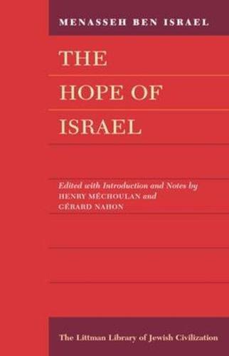 9780197100547: Hope of Israel (Littman Library of Jewish Civilization)