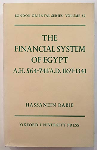 9780197135648: The Financial System of Egypt (London Oriental)
