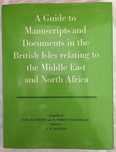 A Guide to Manuscripts and Documents in: n/a