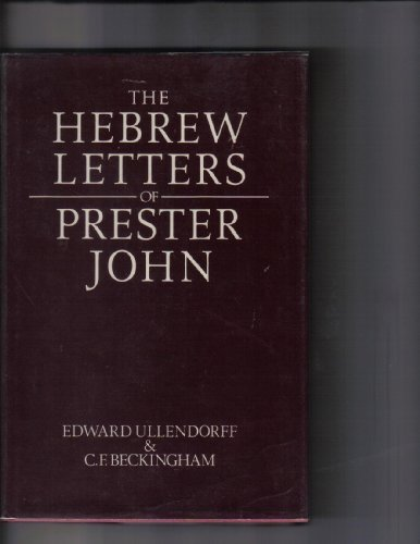 The Hebrew Letters of Prester John