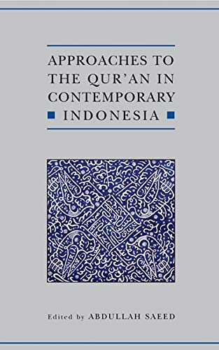 9780197200018: Approaches to the Qur'an in Contemporary Indonesia