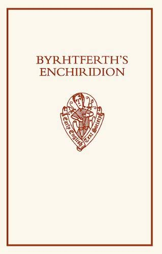 9780197224168: Byrhtferth's Enchiridion (Early English Text Society Supplementary Series)