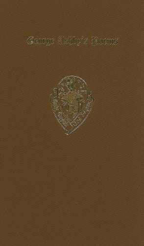 9780197225264: George Ashby's Poems (Early English Text Society Extra Series)