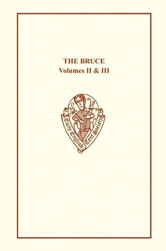 9780197225806: The Bruce by John Barbour (Early English Text Society, Extra S) (Bks.11-20)