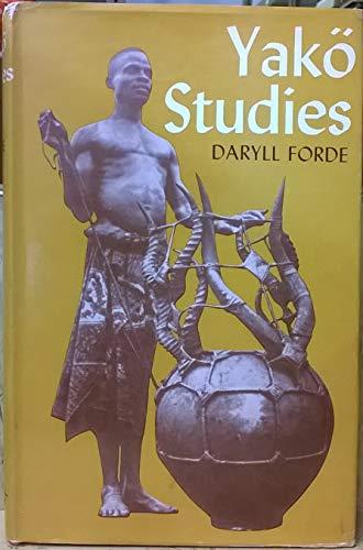 9780197241554: YAKO STUDIES (INTERNATIONAL AFRICAN INSTITUTE S.)