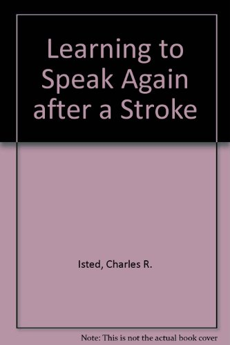 9780197246078: Learning to Speak Again after a Stroke