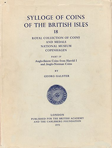 Sylloge of Coins of the British Isles 18: Royal Collections of the Coins and Medals National Museum...